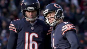 bears kicker cody parkey hits upright four times in game against lions