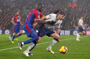 crystal palace player ratings: kouyate and wan-bissaka shine, but meyer struggles against spurs
