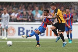 crystal palace youngsters put on four star show against colchester united in u23 clash