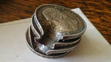 these coins stopped a bullet and saved a soldier's life