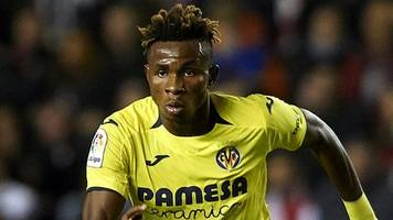 nigerian chukwueze revels in historic la liga goal