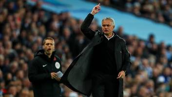 josé mourinho admits man utd are chasing top 4 place following derby loss to man city
