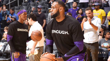 lebron james on thousand oaks mass shooting: 'not again'