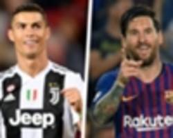 Ronaldo v Messi - the truth on who has the better stats in 2018