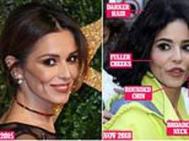 Can pregnancy REALLY change your face? Cheryl claims its behind her radical new look
