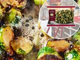 Iceland unveils Brussels sprouts smothered in MARMITE - so would it encourage you to scoff them?