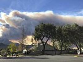 southern california's wildfire roars back to life again, prompts new evacuations