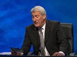 university challenge: jeremy paxman asks wrong question