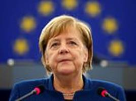 Angela Merkel calls for the creation of a 'real, true' European army