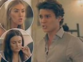made in chelsea: there's trouble in flatmate paradise for miles, emily and habbs