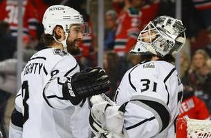 PREVIEW: LA Kings turn to Peter Budaj, Cal Petersen to help stabilize goalie position as they host Maple Leafs (7p, FOX Sports West)