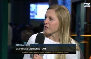 kendall coyne of us women's olympic team joins 'ducks live'