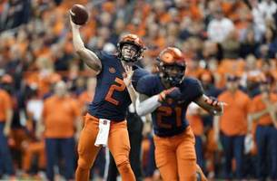 Syracuse QB Eric Dungey nears end of memorable career