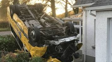 augher crash bus driver says seat belts saved those on board