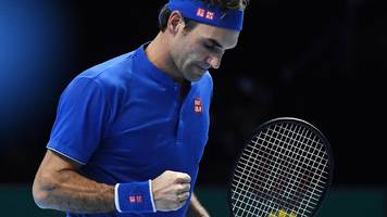 Roger Federer beats Dominic Thiem to keep alive ATP Finals hopes