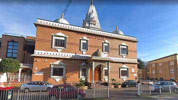 Two robberies on London Hindu temples following Diwali