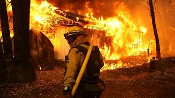 at least 44 dead as series of wildfires spread across california