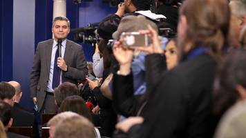cnn sues trump to get jim acosta's white house press pass reinstated