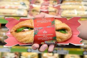 Morrisons' amazing Christmas sandwich is wrapped in Yorkshire pudding instead of bread