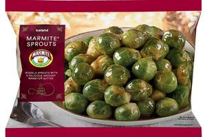 Iceland will be selling Marmite-flavoured sprouts this Christmas