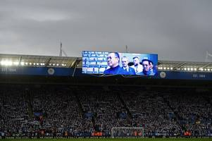 leicester city reveals music played on emotional tribute to vichai at burnley game