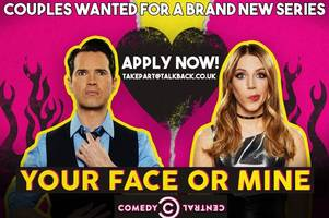 comedy game show your face or mine calls on grimsby couples to take part in new series