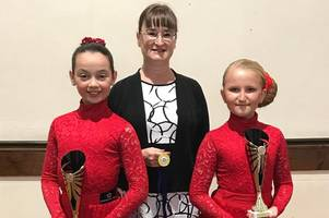 holly and lucy shine at home of dance in blackpool
