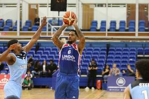 professional basketball match abandoned at crystal palace national sports centre due to roof leak