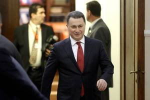 Former Macedonian Prime Minister Says He's Seeking Asylum In Hungary