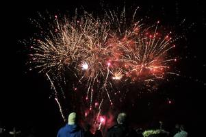 Picture special: Thousands enjoy Dumbarton's annual firework display