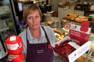 poppy collection tins stolen from dumfriesshire shops just hours before armistice day
