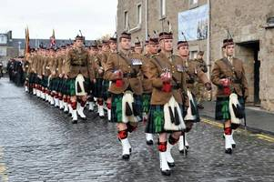 remembrance day marked in perth and kinross 100 years on from the end of world war i