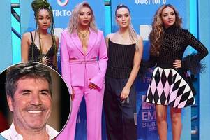 simon cowell reveals the real reason he was forced to split from little mix and philip green