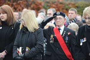 Thousands gathered across West Lothian to pay their respects on Armistice Day