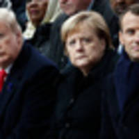 merkel calls for creation of a 'real, true' european army in rebuke to trump after he mocked france