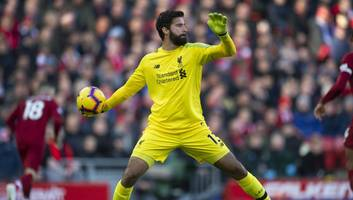 alisson becker says liverpool defensive duo have forced him to change his game