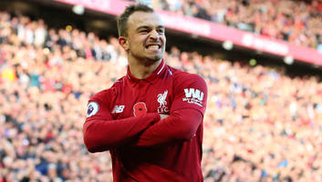 xherdan shaqiri insists 'there are more goals to come' after promising start to liverpool career