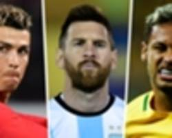 'messi's left foot, neymar's right foot' - mbappe lays out his ideal footballer