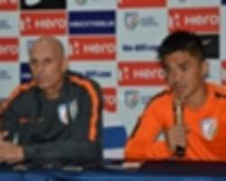 stephen constantine looking for young strikers to fill sunil chhetri's shoes ahead of jordan friendly