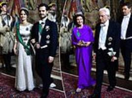 Crown Princess Victoria of Sweden stuns in jade green dress at state banquet