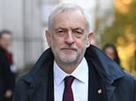 Jeremy Corbyn plots to block Theresa May's Brexit agreement despite no-deal fears