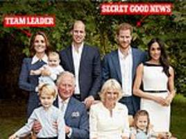 kate middleton meghan markle prince william prince harry body language in charles birthday picture