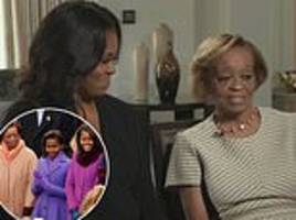 michelle obama's mother marian insisted on doing her own laundry in the white house
