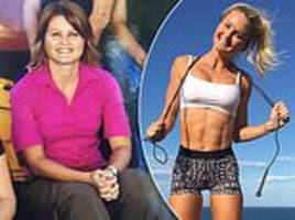 mother, 41, reveals the drastic difference between her 31-year-old self and now