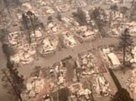 New drone footage shows Paradise completely wiped out by Camp Fire