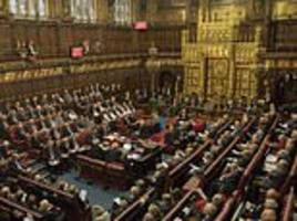 second member of the house of lords is accused of sexual harassment