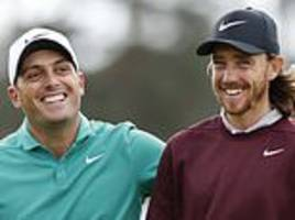 ryder cup bromance on hold as francesco molinari seeks to hold off tommy fleetwood in dubai