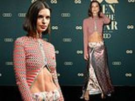 michael and kyly clarke lead the star arrivals at gq awards