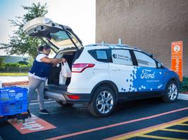 ford and walmart are teaming up to test delivering products with self-driving cars (wmt, f)