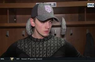 cal petersen excited to call his parents after nhl debut